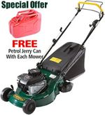 Tuffcut rear roller self propelled lawn mower
