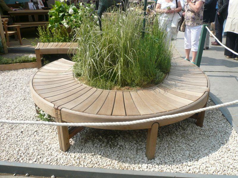 Circular Garden Bench