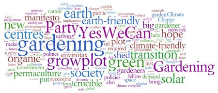 Manifesto for a greener Britain gardening party political