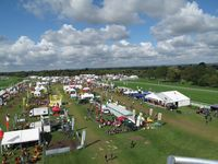 saltex showground aerial view
