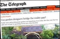 Telegraph screenshot