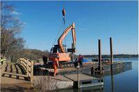 Fleet pond dredging courtesy of Fleet People