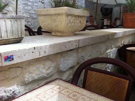 Limestone coping stones