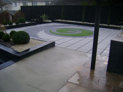 Artificial lawn base