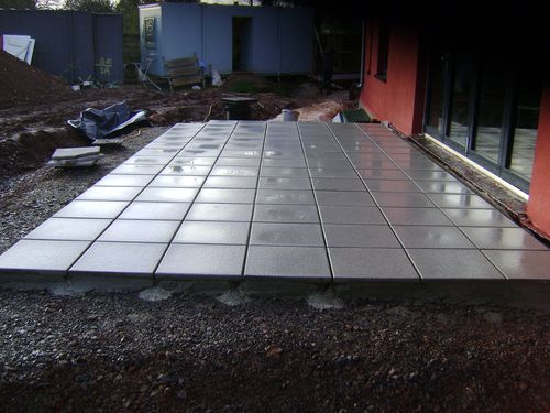 Patio paving Devon