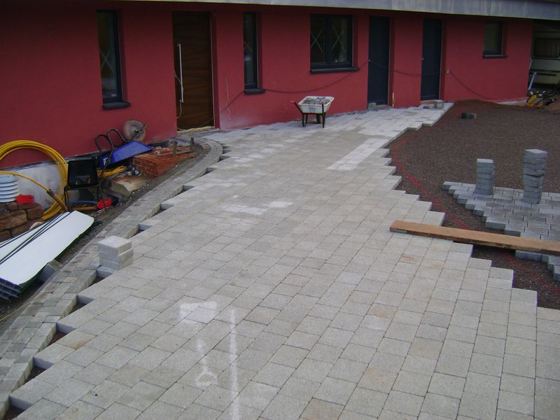 Permeable paving devon