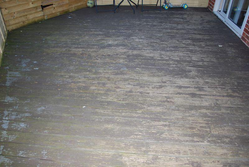 Dangerous softwood decks