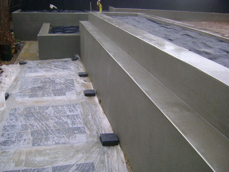 Tobermore block paving foothpath