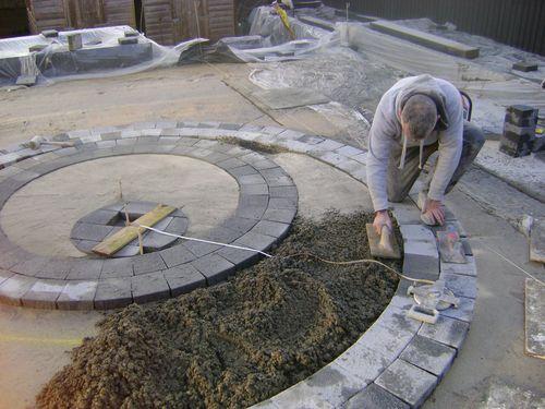 Grono lawn concrete base