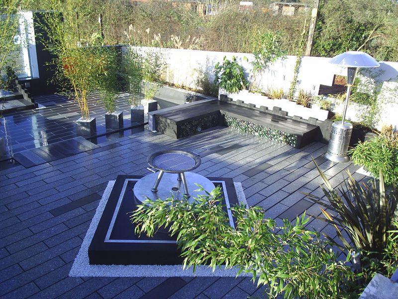 Contemporary Garden Design Devon