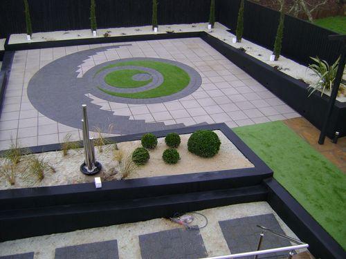 Modern rear Garden