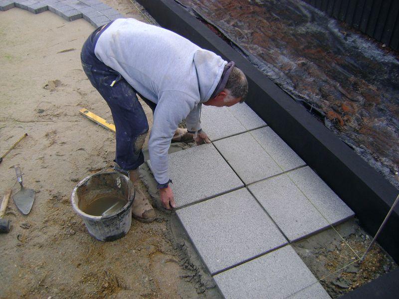 Paving contractor Devon