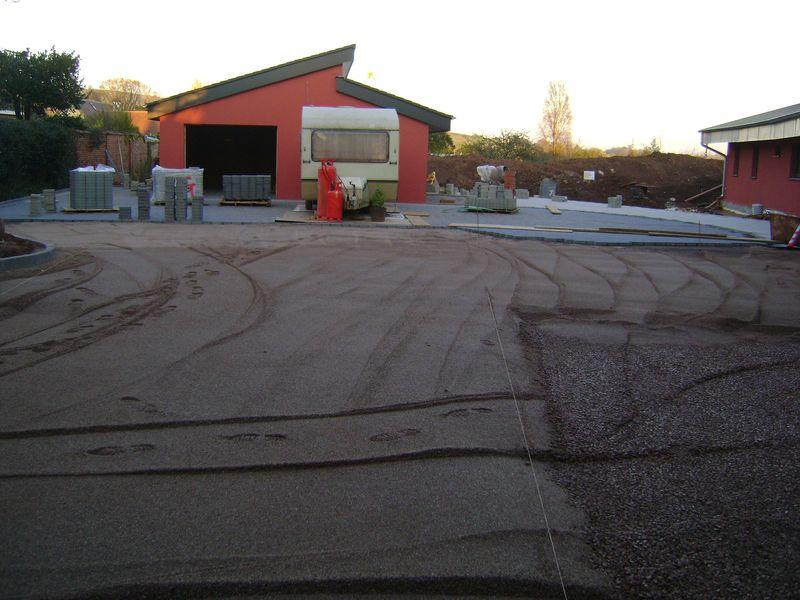Siverton permeable driveway