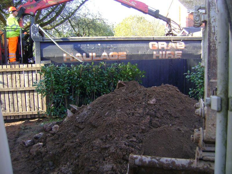 12 ton Hi-ab grab lorry