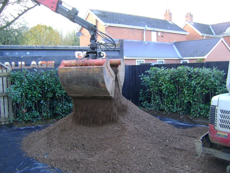 12 tons of subbase
