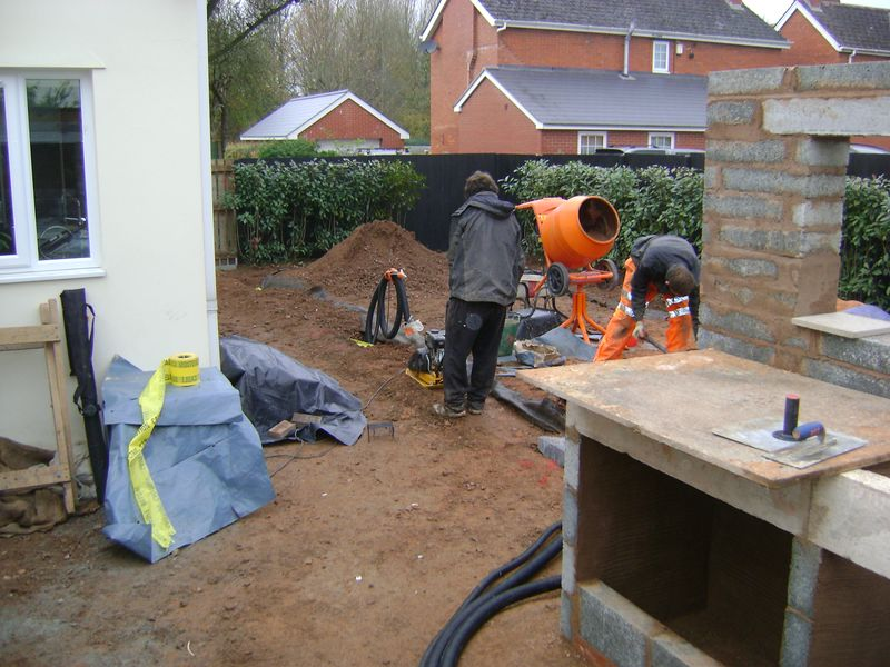 Ducting trench compaction