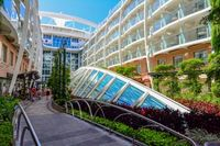 Royal Carribean plants and trees Harmony of the Seas