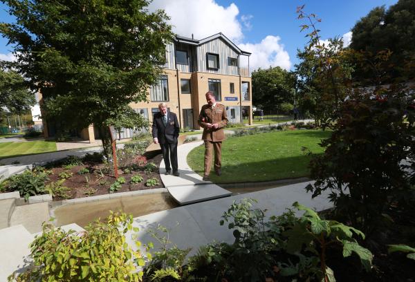 Chelsea Barracks Foundation Donates Gold Medal Winning Garden To New